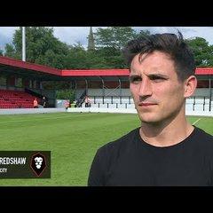Salford City 3-4 Blackpool - Jack Redshaw post-match interview