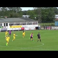 Banbury United Women v Headington - 13th Aug 2017 - Goalkeeper Contributing