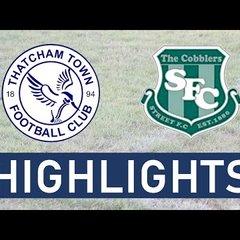 Thatcham Town FC vs Street FC   Highlights
