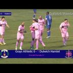 Grays Athletic 0-2 Dulwich Hamlet, Ryman League Premier Division, 27/12/16 | Match Highlights