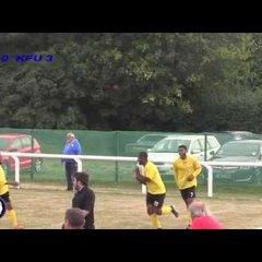 Snodland Town vs KFU - 24/9/16