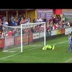 Banbury United - Ravi Shamsi's sensational overhead bicycle kick goal