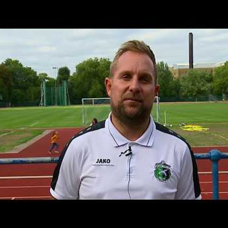 INTERVIEW - Assistant Manager Mike Jones after Forest Hill 0-1 Welling Town