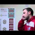 TONBRIDGE ANGELS VS HENDON - Steve and Jim post match interview
