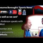 'Sports News': Kevin Anderson Interviews Mike West - Vanarama National League South