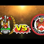 WORKINGTON REDS VS HYDE UNITED MATCH DAY HIGHLIGHTS!!!