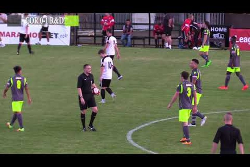 CTTV Highlights: Corby Town 1-1 RUSHDEN & DIAMONDS: