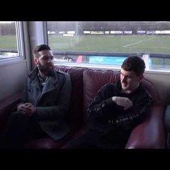 Carlton Town v Belper Town 24/02/2018 - Niall Davie Interview Post-Match