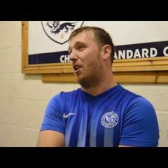 Thatcham Town FC vs Oxford City Nomads - Tom Browne Interview