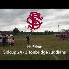 Sidcup 2s v Tonbridge Juddians 2s