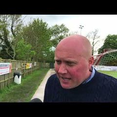 POST MATCH INTERVIEW - Poole Town 2-0 Oxford City