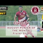 Frazer Shaw - August Player of the Month
