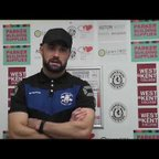 TONBRIDGE ANGELS VS TOOTING & MITCHAM - Post match interviews 21/10/2017
