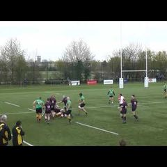1XV vs Maidenhead - Simon Bayliss try