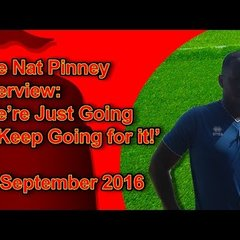 Nat Pinney Interview: 'We're Just Going to Keep Going for it!'