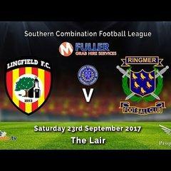 Lingfield FC v Ringmer FC - 23-09-2017- HIGHLIGHTS
