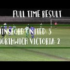 [NVTV] [NWCFL] Winsford United vs Northwich Victoria [GOALS]