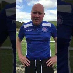 VIDEO | Mark Jones comments following Whitehawk(a) 12-8-17