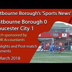 'Sports News': Eastbourne Borough 0 v 1 Gloucester City – Vanarama National League South Highlights