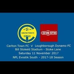 Carlton Town v Loughborough Dynamo - Highlights 11/11/2017
