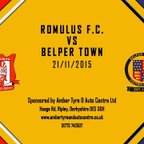 Romulus FC 2 - 3 Belper Town 21st November 2015 Highlights