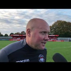 POST MATCH INTERVIEW - Hemel Hempstead 1-1 Oxford City