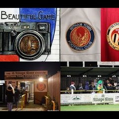 Two Men In Search Of The Beautiful Game - Witham Town FC Vs Heybridge Swifts FC