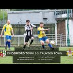 Extended Highlights: Cinderford Town 2-3 Taunton Town