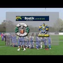 Grays Athletic fc v Romford FC Bostik North 22/4/19