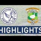 Thatcham Town FC vs Aylesbury Utd FC Highlights!