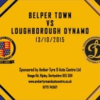 Belper Town 1 - 2 Loughborough Dynamo 13th October 2015 Highlights