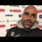 Hereford FC 1-0 St Neots | Matt Clements Reaction