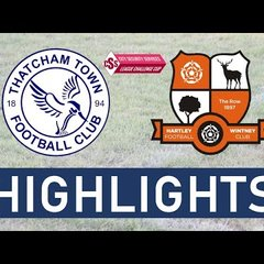 Thatcham Town FC vs Hartley Wintney FC   Highlights