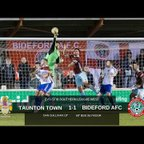 Extended Highlights: Taunton Town 1-1 Bideford AFC