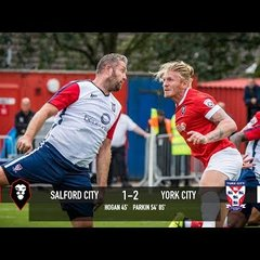 Salford City 1-2 York City - The Emirates FA Cup 2nd Qualifying Round