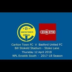 Carlton Town v Basford United 12/04/2018 - Match Highlights