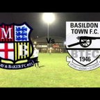 May and Baker FC Vs Basildon Town FC - Highlights - 08/02/2018