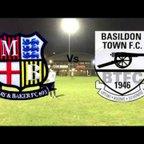May and Baker FC Vs Basildon Town FC - Highlights - 08/02/2018