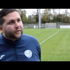 Thatcham Town FC vs Binfield FC - Interview with Danny Robinson
