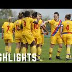 HIGHLIGHTS: v Portsmouth Ladies