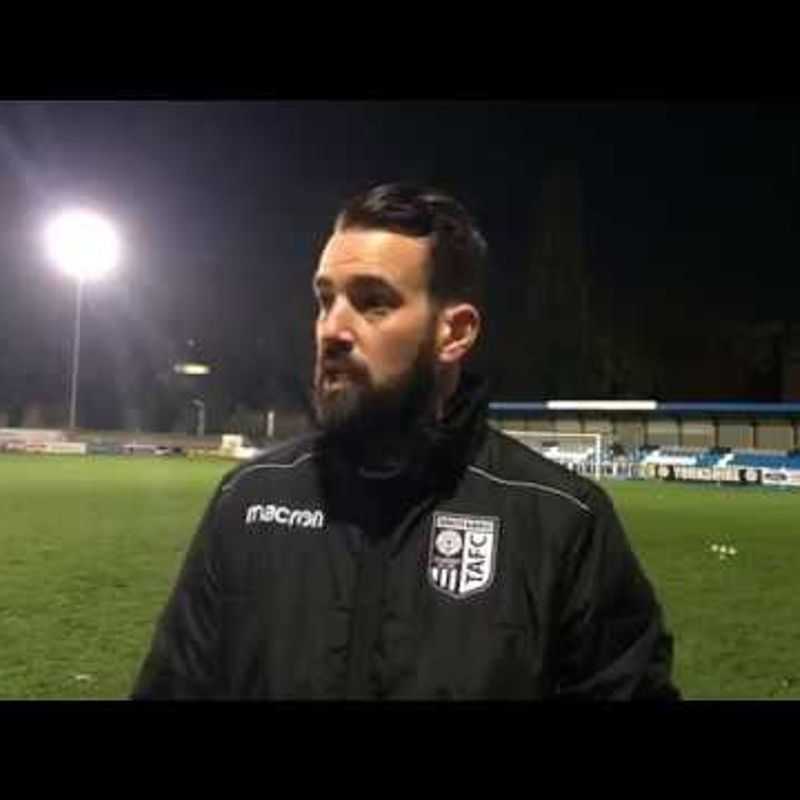 REACTION | Taddy Up To Third After 3-0 Win Over Stamford!