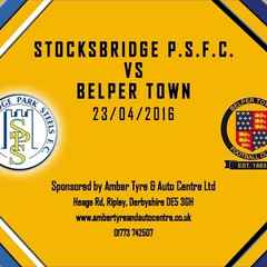 Stocksbridge Park Steels 2 - 1 Belper Town 23rd April 2016 Highlights