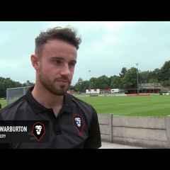 Salford City 1-4 Fleetwood Town - Matt Warburton post-match interview