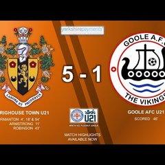 05/05/18 - Brighouse Town U21 5-1 Goole AFC U21