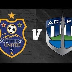 ISPS HANDA Premiership - Week #16 - Southern United FC vs Auckland City