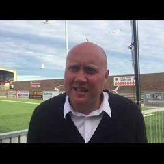 POST MATCH INTERVIEW - Eastbourne Borough 2-0 Oxford City