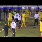 2203 1st Half Molesey FC v Hastings United