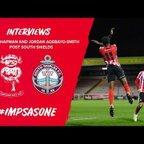 ? Post Match | Ellis Chapman and Jordan Adebayo-Smith Post South Shields