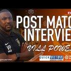 08/09/18 - Vill Powell Post Loughborough Dynamo