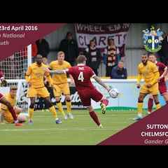 Sutton United 2 vs 0 Chelmsford City - Extended Highlights